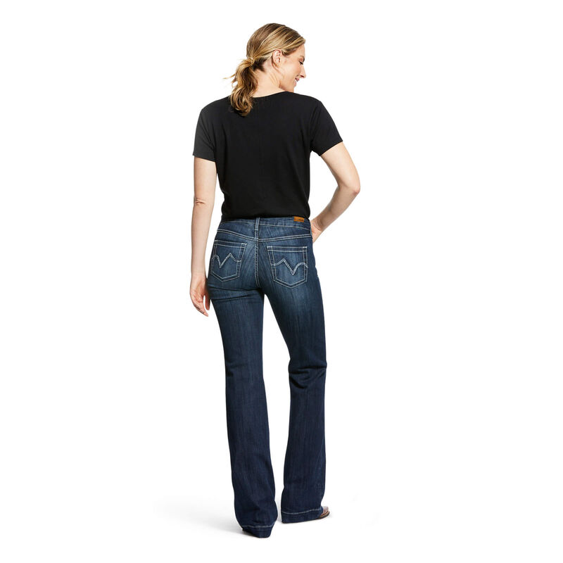 Trouser Perfect Rise Stretch Bianca Wide Leg Jean