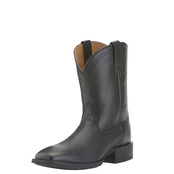 Heritage Roper Wide Square Toe Western Boot