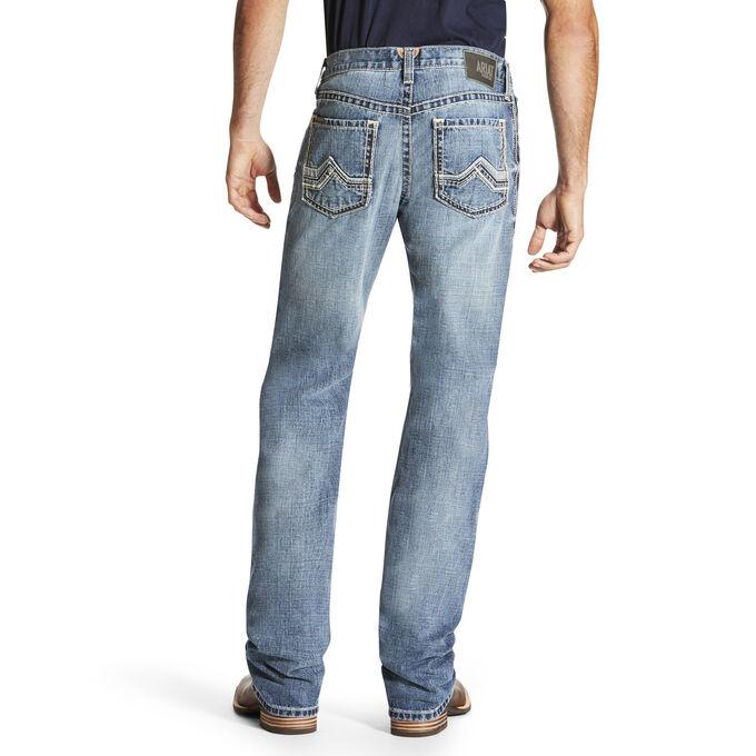 M4 Low Rise Quarterline Boot Cut Jean