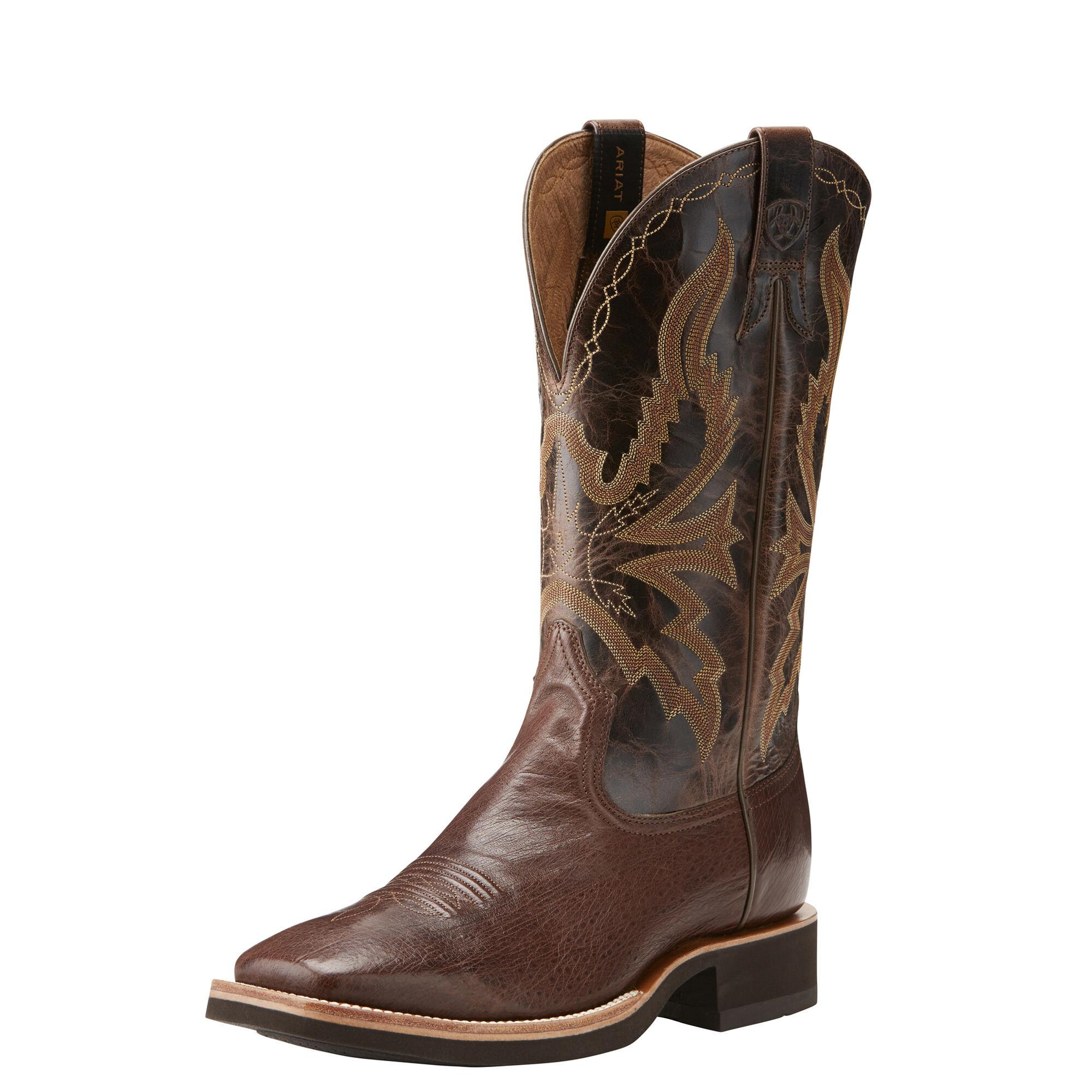 Quantum Brander Crepe Western Boot