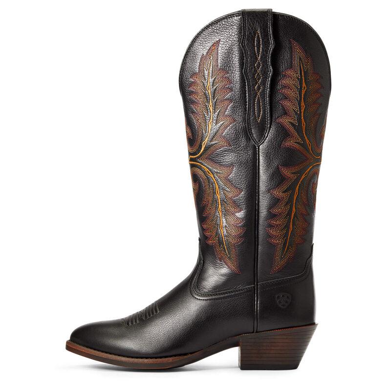 Heritage Elastic Calf Western Boot