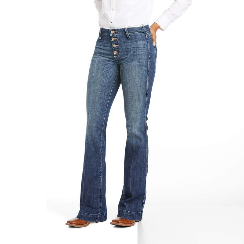 Ariat Women's Slim Trouser Isabella Wide Leg Jeans