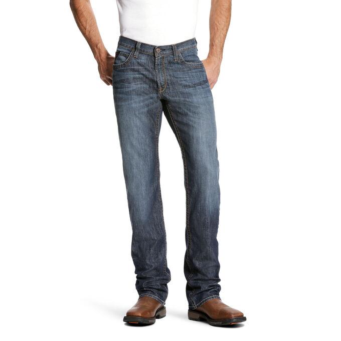 Men's FR Jeans - Low Rise Stretch Boot Cut Jeans