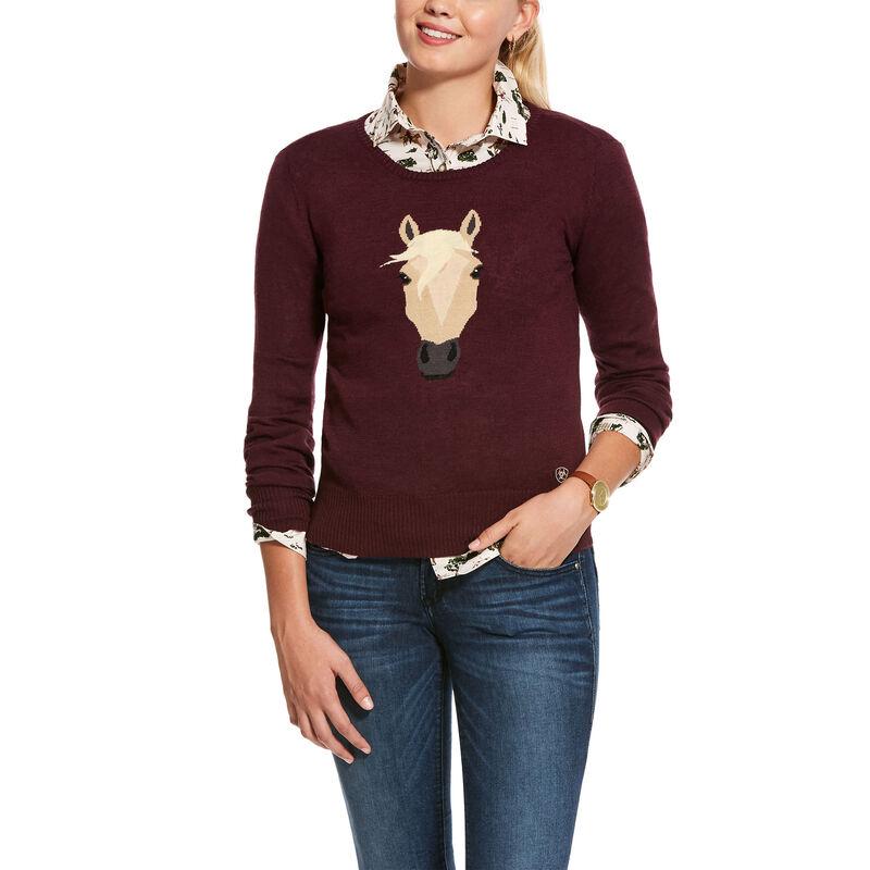 Trigger Intarsia Sweater