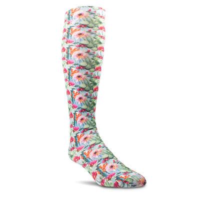 Floral Watercolor Knee High Sock
