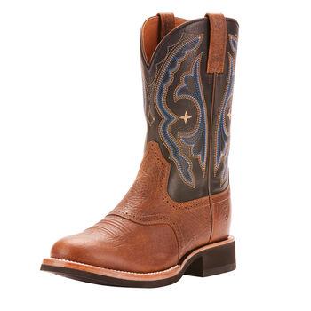 Quantum Crepe Western Boot