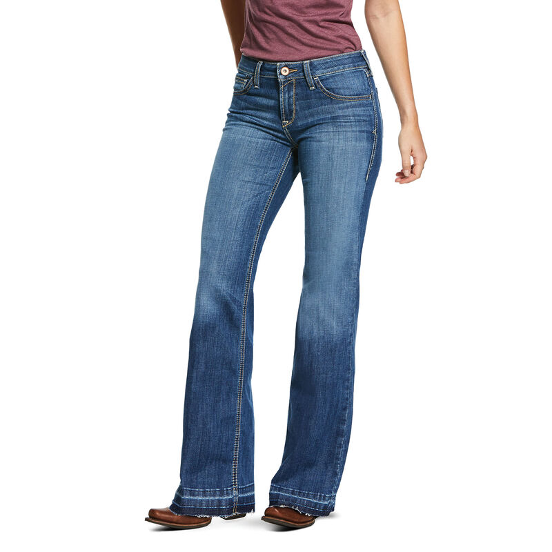 Trouser Perfect Rise Stretch Talia Wide Leg Jean