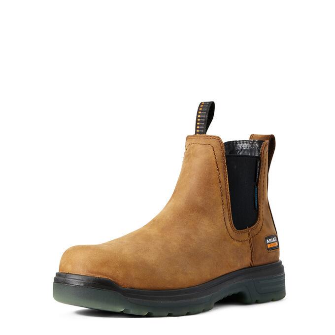 Turbo Chelsea CSA Waterproof Carbon Toe Work Boot