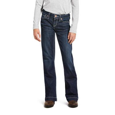 Trouser Mid Rise Stretch Ella Wide Leg Jean