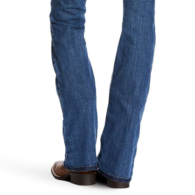 R.E.A.L Mid Rise Jasmine Boot Cut Jean