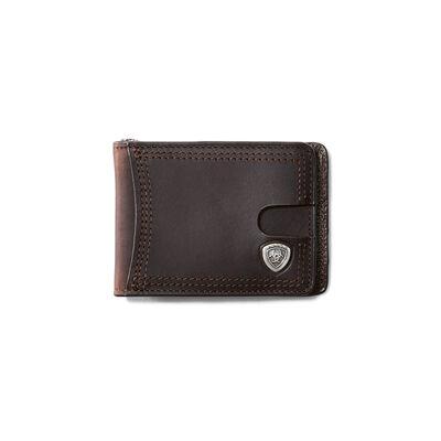 Bifold Slim Wallet Sliver Logo
