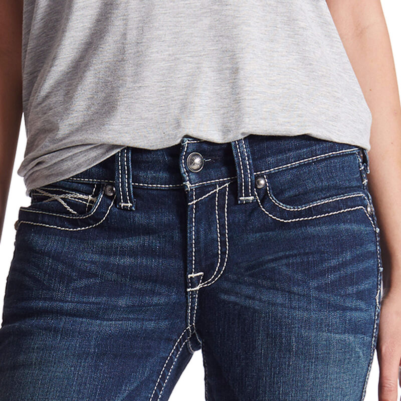 R.E.A.L. Mid Rise Icon Stackable Straight Leg Jean