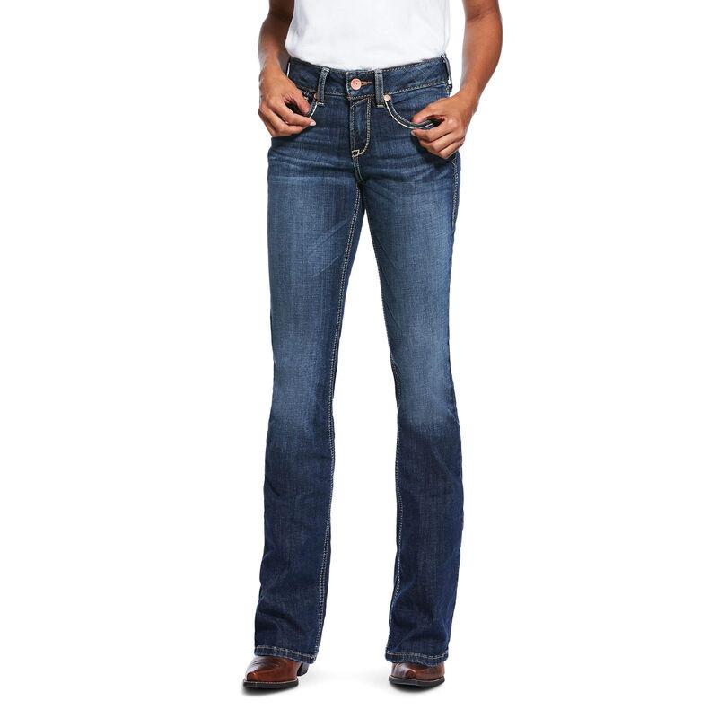 R.E.A.L. Perfect Rise Stretch Linda Boot Cut Jean
