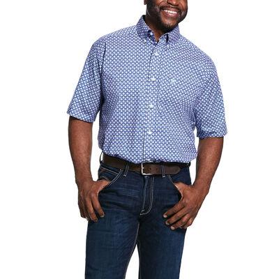 Sierra Print Str Classic Fit Shirt