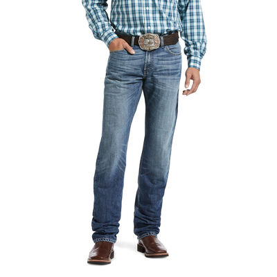 M4 Low Rise Vincent Stackable Straight Leg Jean