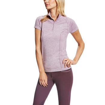 Odyssey Seamless S/S 1/4 Zip Seamless Top