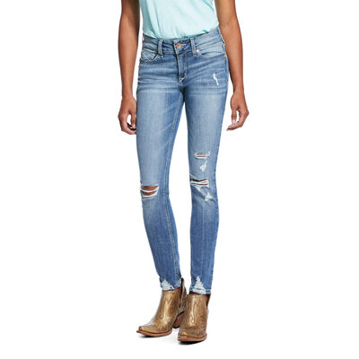 R.E.A.L. Perfect Rise Stretch Ella Skinny Jean