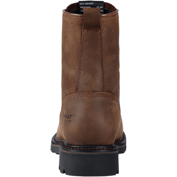 "Cascade 8"" Wide Square Toe Work Boot"