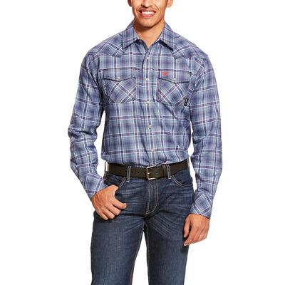 FR Diesel Retro Fit Snap Work Shirt