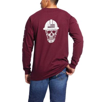FR Roughneck Skull Logo T-Shirt