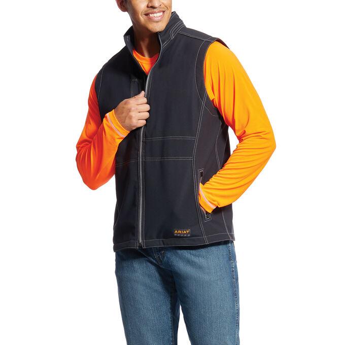 Rebar Canvas Softshell Vest