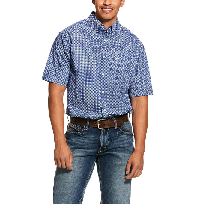 Gladview Print Stretch Classic Fit Shirt