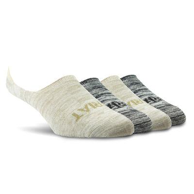 No Slip No Show Sock 4 Pair Multi Color Pack