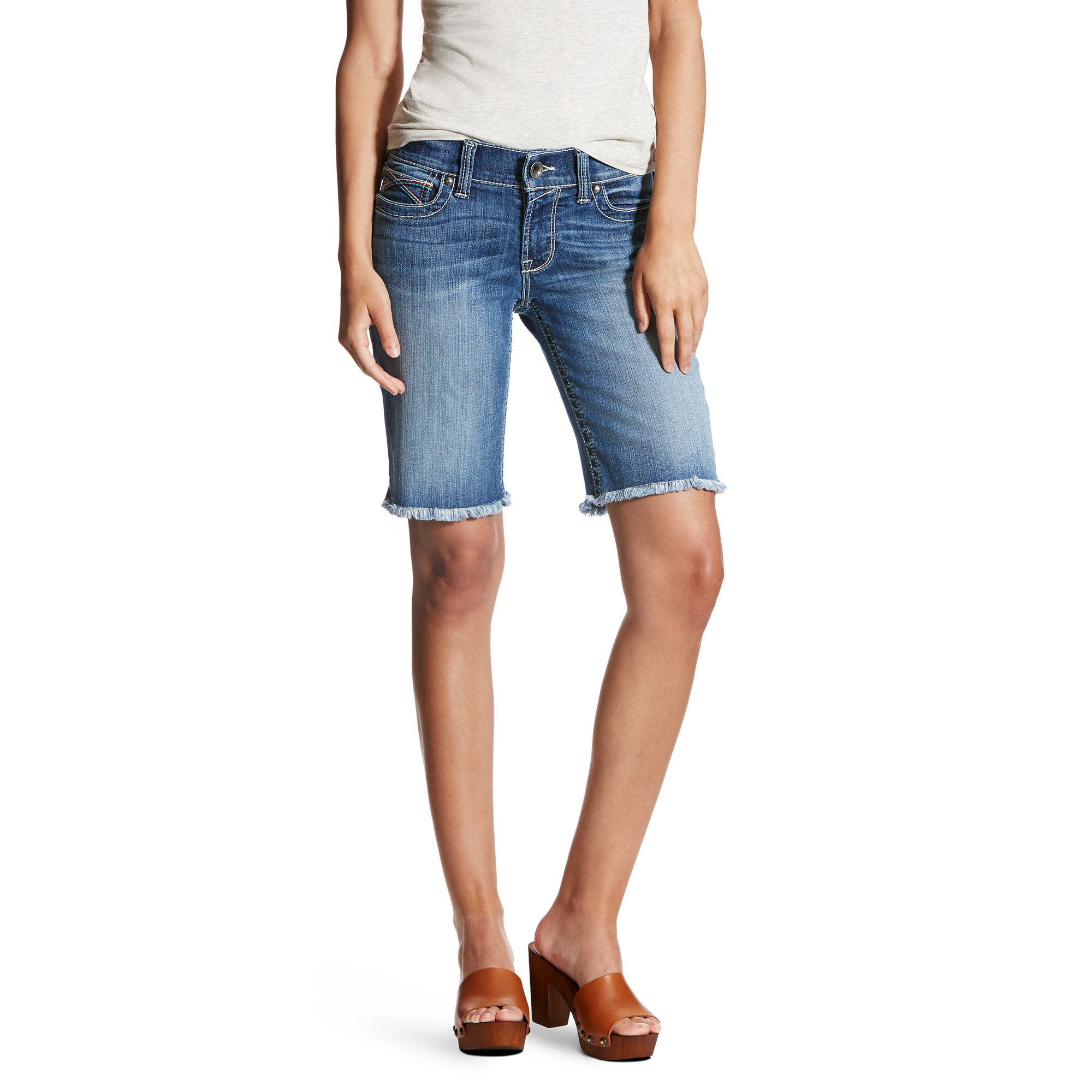Multi Side Stitch Bermuda Short