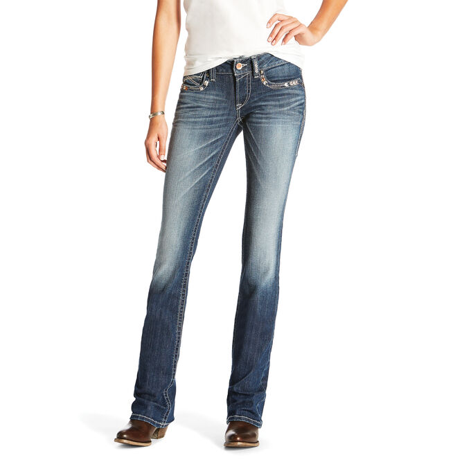 R.E.A.L Low Rise Chloe Boot Cut Jean