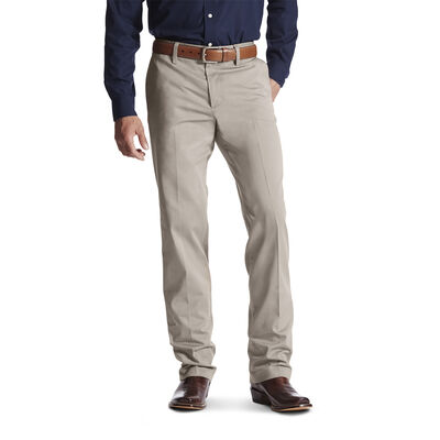 M2 Relaxed Performance Khaki Boot Cut Pant