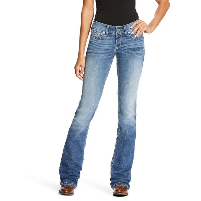 R.E.A.L Low Rise Slim Ella Boot Cut Jean