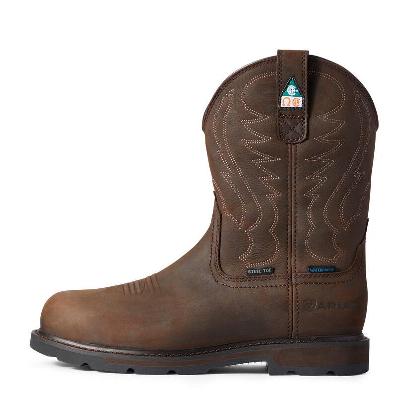 Groundbreaker CSA Waterproof Steel Toe Work Boot