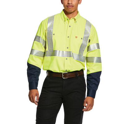 FR Hi-Vis Work Shirt