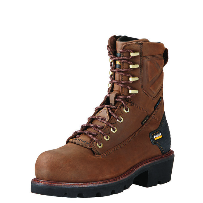 "Powerline 8"" 400G Waterproof 400g Composite Toe Work Boot"