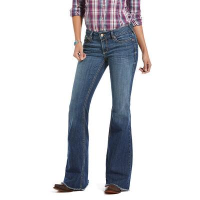 R.E.A.L. Mid Rise Bella Flare Jean