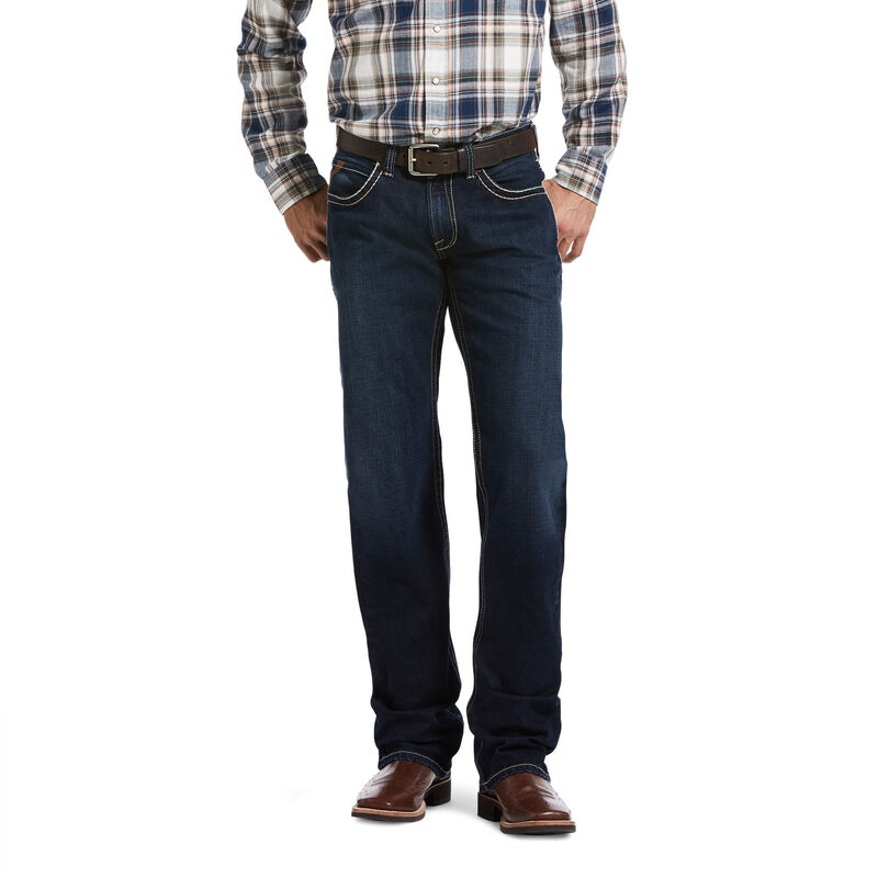 M5 Slim Stretch Cliff Stackable Straight Leg Jean