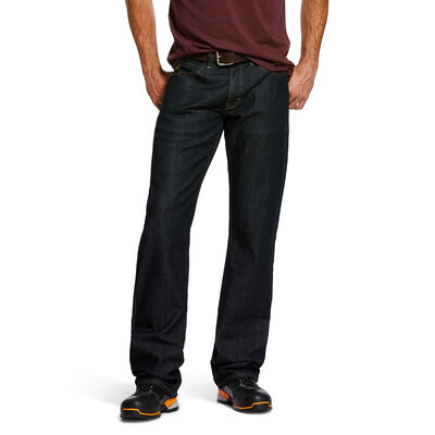 Rebar M4 Low Rise DuraStretch Basic Flannel-lined Boot Cut Jean