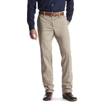 69277bda220 M2 Relaxed Performance Khaki Boot Cut Pant ...