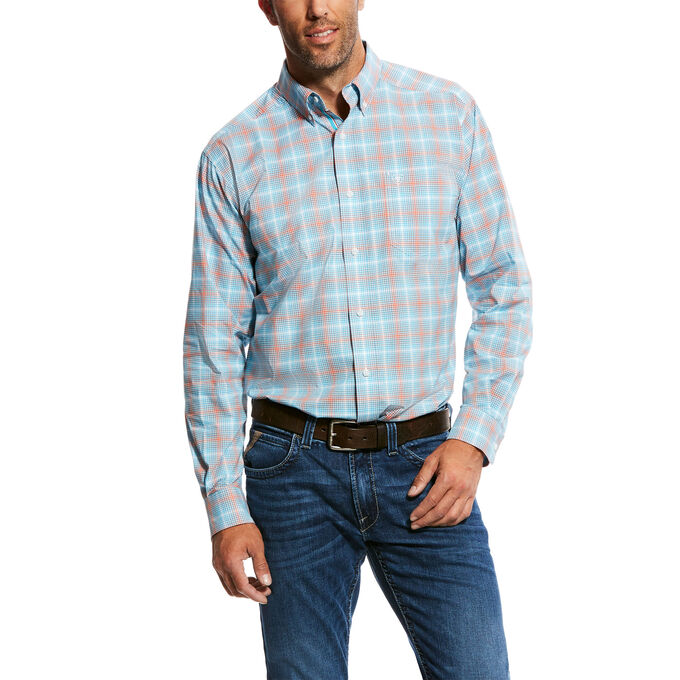 Naragon LS Stretch Perf Shirt Fitted