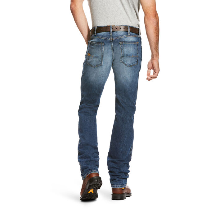 Rebar M3 Loose DuraStretch Basic Stackable Straight Leg Jean