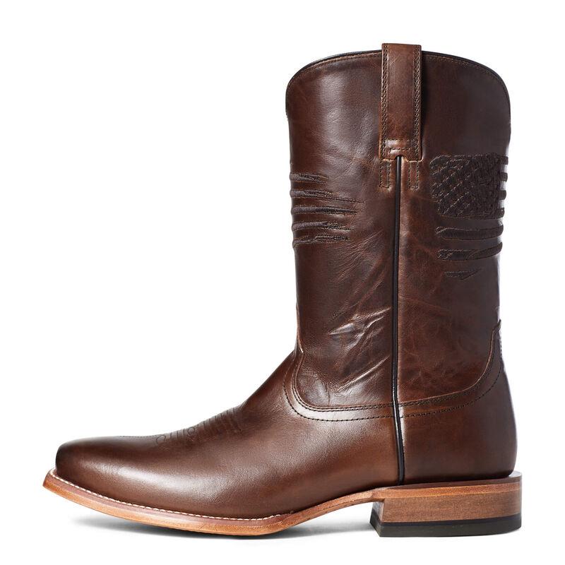 Circuit Patriot Square Toe Western Boot
