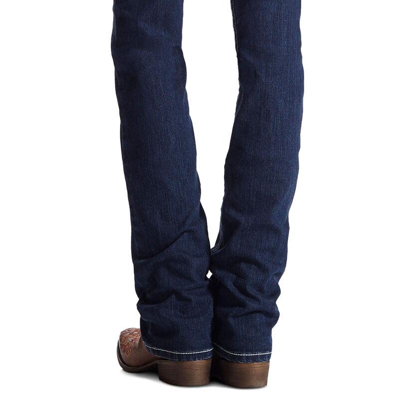 R.E.A.L. Mid Rise Stretch Icon Stackable Straight Leg Jean