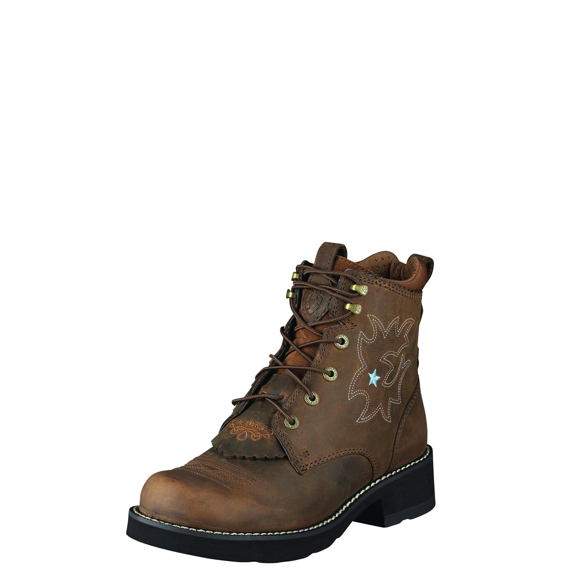 Women's Probaby Lacer Boots in Driftwood Brown by Ariat
