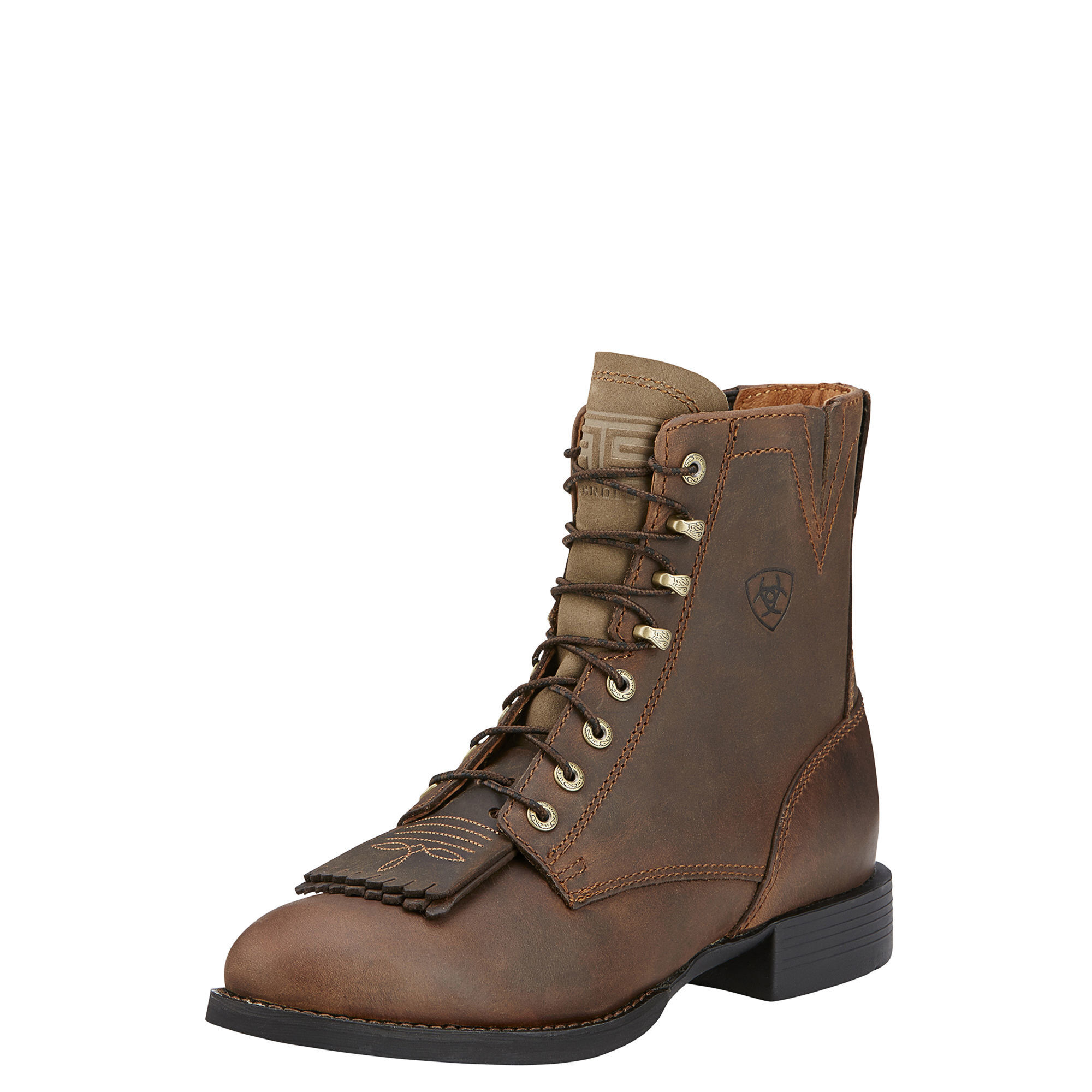 Women's Heritage Lacer II Boots in Distressed Brown by Ariat