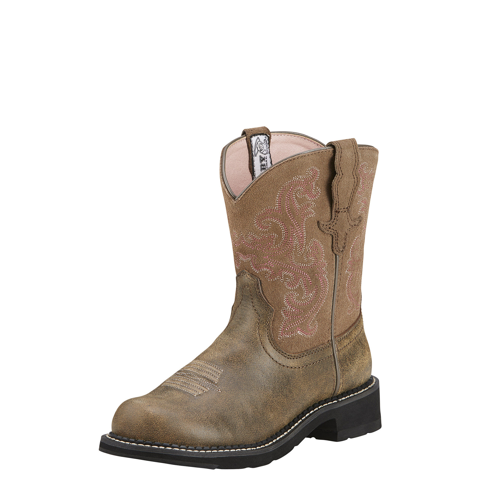 Women's Fatbaby II Western Boots in Brown Bomber by Ariat