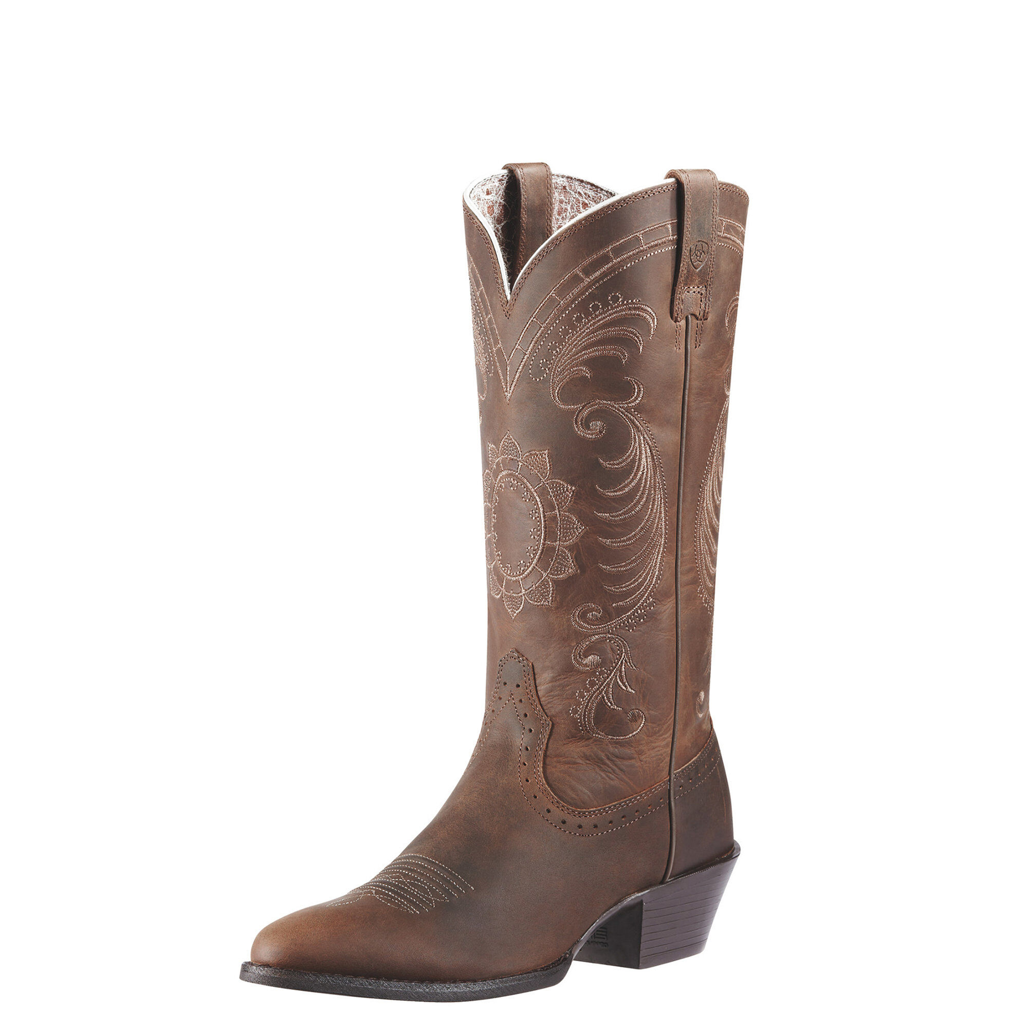 Ariat Women's Magnolia Western Boots in Distressed Brown