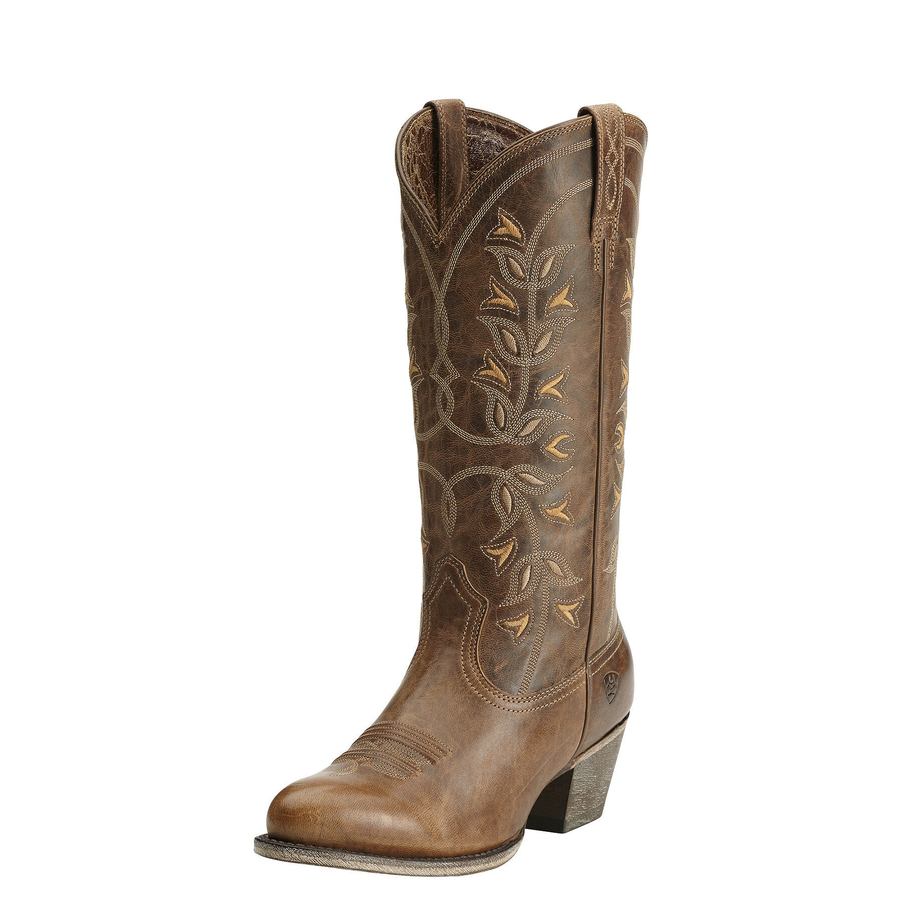 Women's Desert Holly Western Boots in Pearl Leather by Ariat