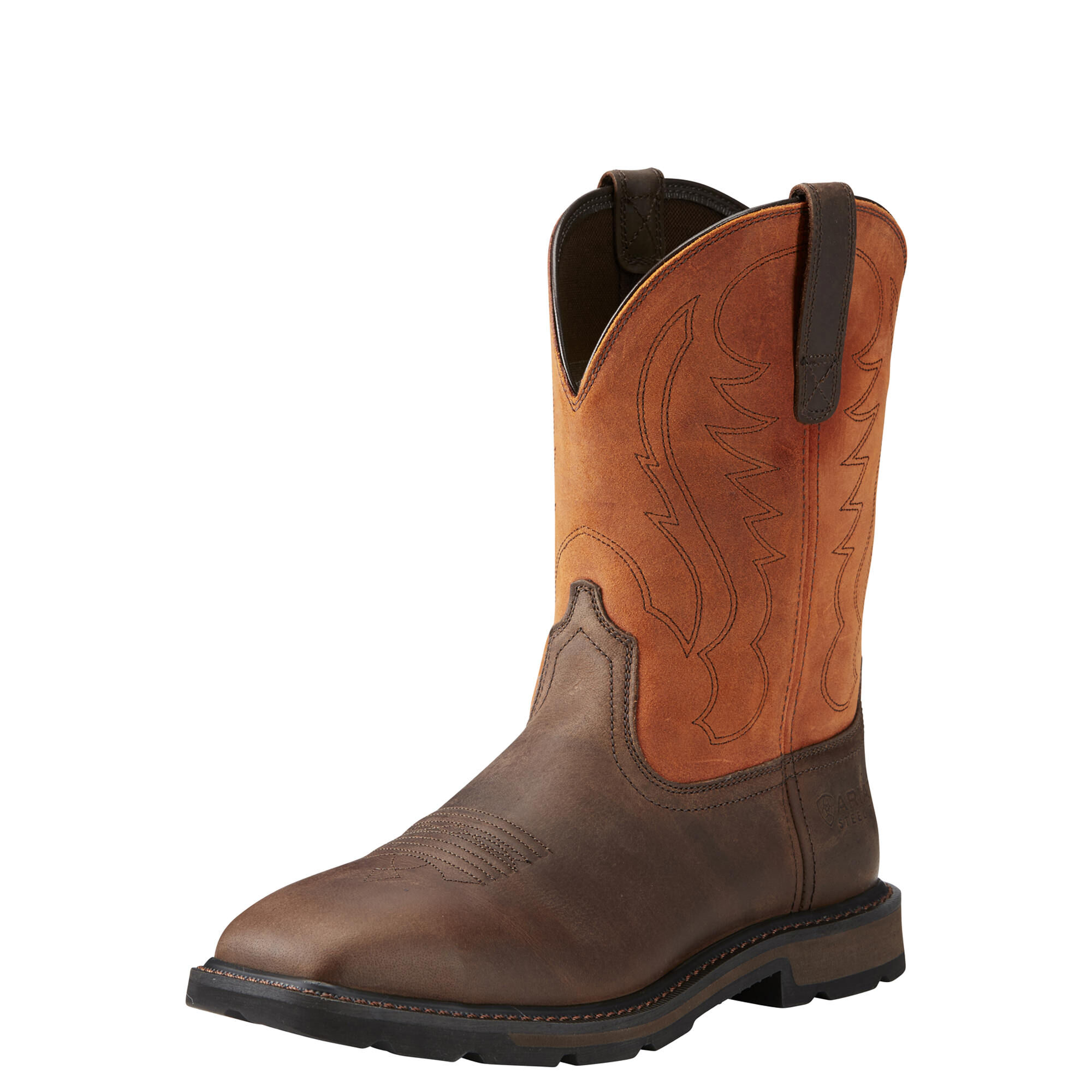 Fast Shipping New Details about  /Ariat Terrain Wide Square Toe Steel Toe Work Boots 10016379