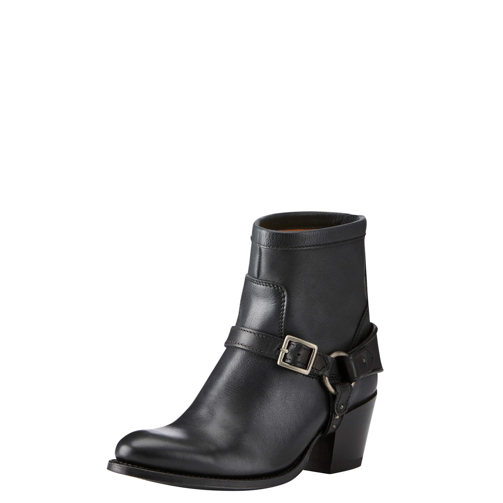 Women's Segovia Ankle Boots in Black Leather by Ariat Two24