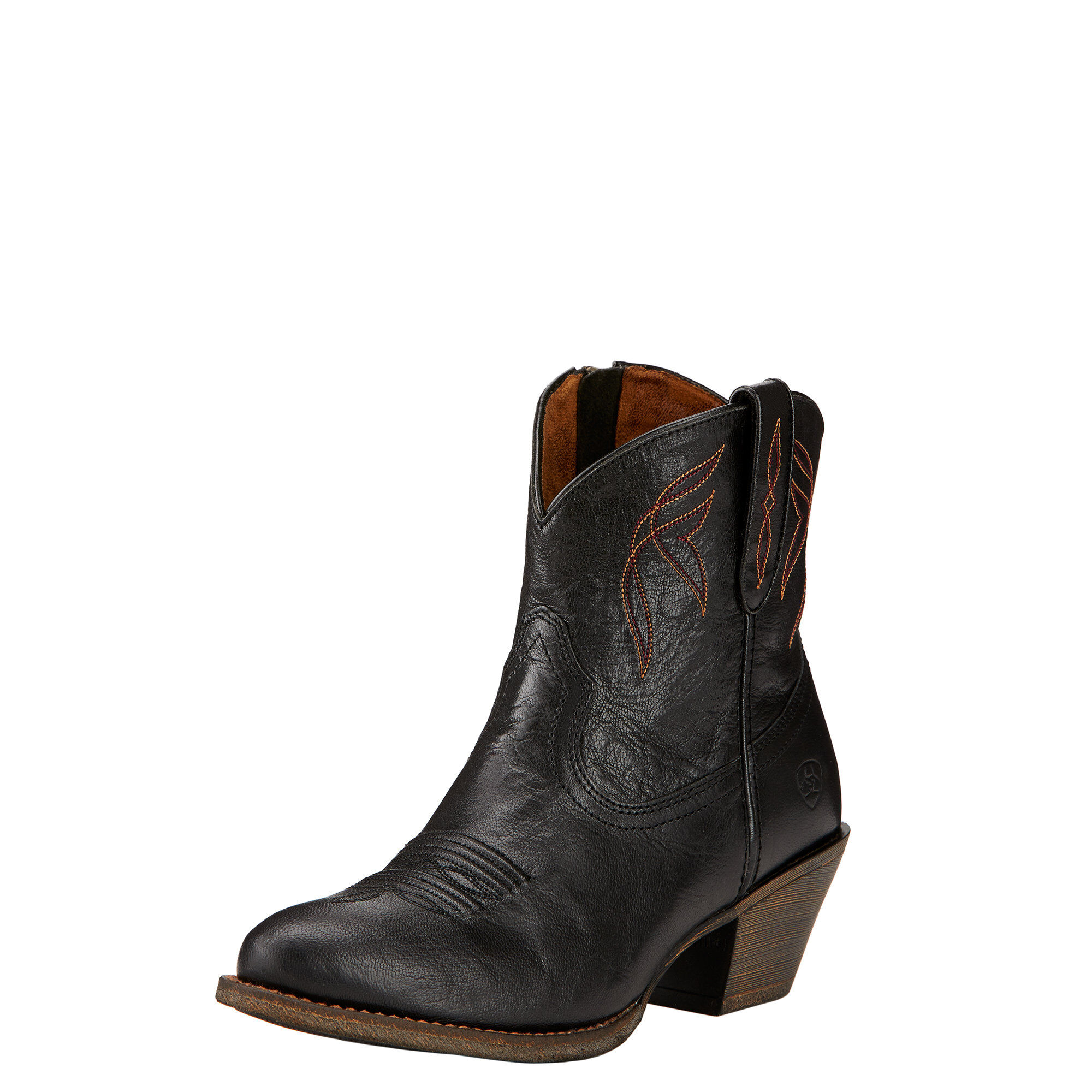 Women's Darlin Western Boots in Old Black Leather by Ariat